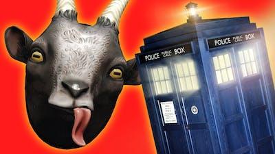 Goat Simulator DOCTOR WHO TARDIS Mod!