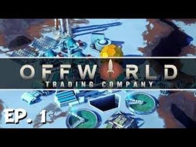 Offworld Trading Company Gameplay 1 Español