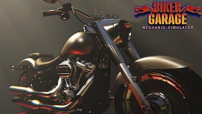 MOTOR TAMİR OYUNU // Biker Garage: Mechanic Simulator