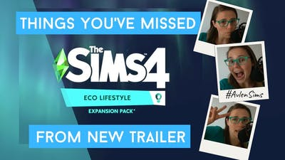 The Sims 4: Things you have missed from new expansion pack: ECO LIFESTYLE #Avlensims