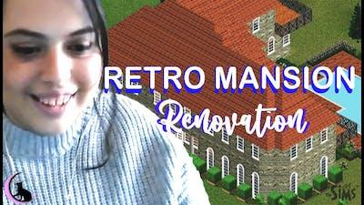 retro mansion renovation!