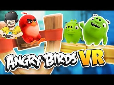 Angry Birds VR: Isle of Pigs | Gameplay