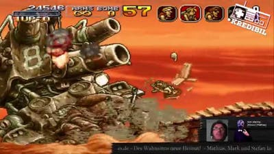 Let´s Play Metal Slug 3 #001, Mission 1 mit I-Ivntsmark