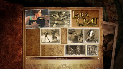 Lara Croft and the Guardian of Light something different again not like Tombraider