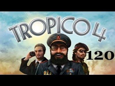 Let's Play Tropico 4 Part 120: Killer Waves, Dude