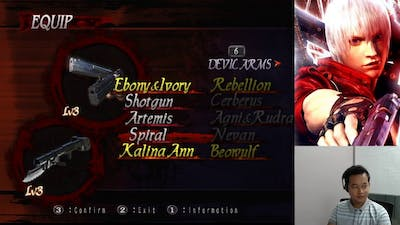 BlueFlaw plays devil may cry 3 special edition