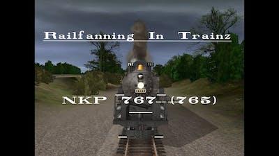 200 Subs - Railfanning in Trainz: NKP 765 (767)