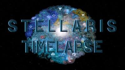 [Stellaris] Galaxy AI Only Timelapse