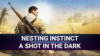 [Road to 100%] Sniper Elite 3 - Nesting instinct + A shot in the dark - Achievement Walkthrough