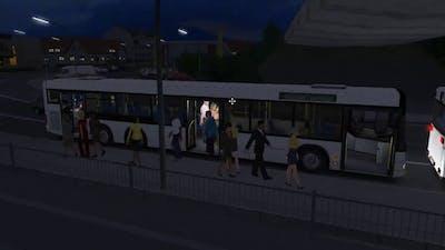 OMSI2 Ebstein Map- Add-On MAN Citybus Series