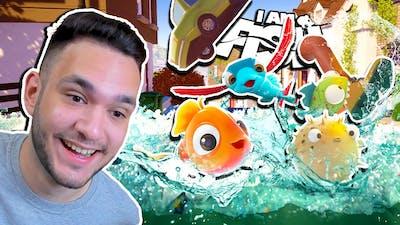 Os PEIXES DESTRUÍRAM a CIDADE com um TSUNAMI GIGANTE! I am Fish Final