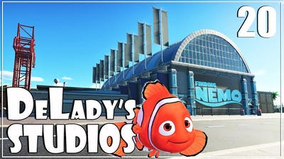 🎬 Finding Nemo Dark Ride | Disney | DeLady's Studios | Planet Coaster | Ep. 20 | World's Fair Pack|