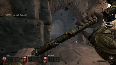 Vermintide would make a pretty good survival horror game