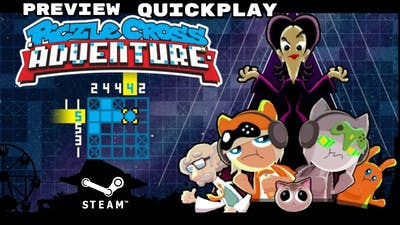 Piczle Cross Adventure (PC/WINDOWS) Gameplay Walkthrough Preview Quickplay NO COMMENTARY HD1080p