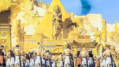 TOMB KINGS vs EMPIRE - Siege of Lybaras - WARHAMMER Cinematic TotalWar