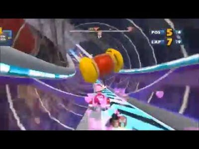 Sonic Sega All Stars Racing All Stars Moves All Characters Speed Up 1.5