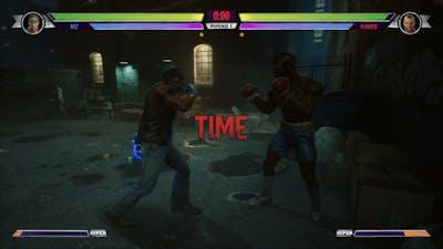 Big Rumble Boxing: Creed Champions - David Nez vs Clubber Lang (Arcade Mode)