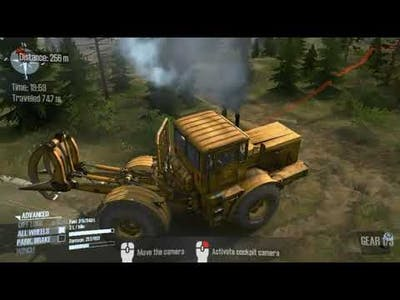 THE RIDGE MAP-PART 3/MUDRUNNER AMERICAN WAILLD OFF-ROAD PC GAME PLAY