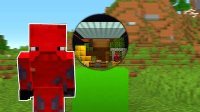 I Made a MINIGAME in Non-Euclidean Minecraft