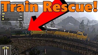Train Mechanic Simulator 2017 | TRAIN RESCUE!