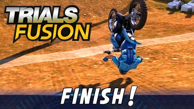 TRIALS FUSION - Try to beat this!