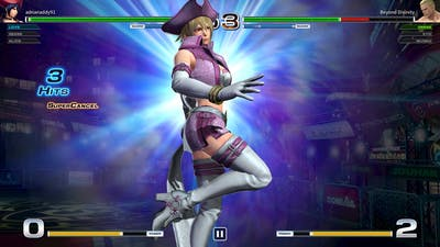 The King Of Fighters XIV - Online Matches, Team Vs