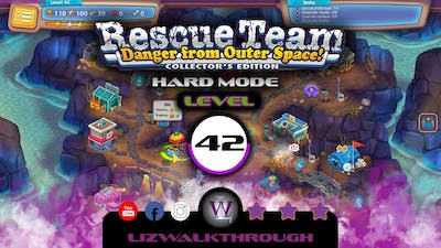 Rescue Team 10 CE - Level 42 Walkthrough - Danger from Outer Space!