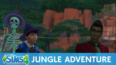 Letzo jr - The Sims 4: Jungle Adventure but I forgot to play this DLC until now