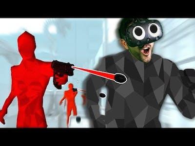 HARDCORE MODE CHALLENGE! - Superhot VR