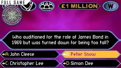 Who Wants to be a Millionaire: 2nd Edition | Game Boy Advance | Full Game [Upscaled using xBRz]