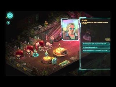 Shadowrun Returns - Looking for Trouble, Playthrough