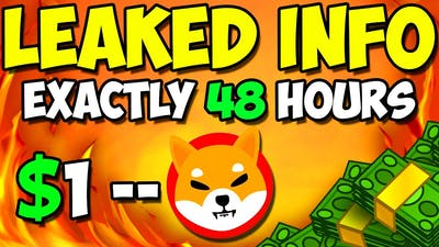 *URGENT* SHIBA INU CEO REVEALED WHAT WILL HAPPEN WITH SHIB IN 48 HOURS! - EXPLAINED