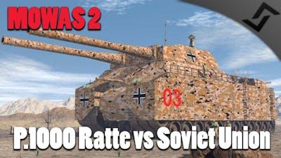 Men of War: Assault Squad 2 - P.1000 Ratte vs Soviet Union Onslaught