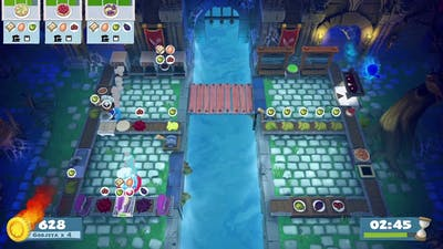 Overcooked 2 [Night of the Hangry Horde] Level 2-3 - 2 players - 4 stars