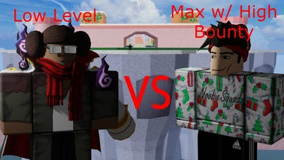 Low Level vs Max w/ High Bounty I Blox Fruits