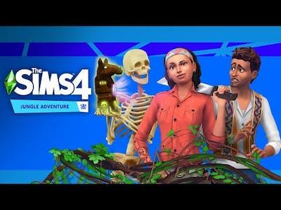 The Sims 4 Jungle Adventure (Jungle Explorer Aspiration)
