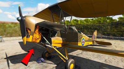 Stupid Guy Fixing Planes - Plane Mechanic Simulator