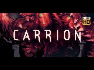 Carrion - Conferindo o game.