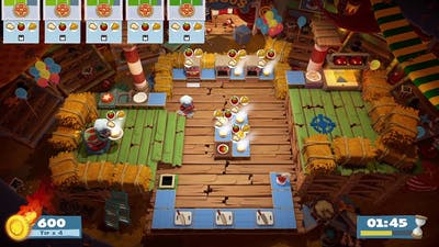 Overcooked! 2 - Carnival of Chaos - World 1-2 - 3 Stars