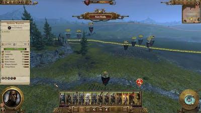 Total war :Warhammer BLOOD AND GORE DLC Gameplay