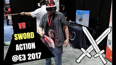 VR SWORD GAME is Crazy Fun