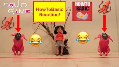 HowToBasic Reaction - How To Survive Squid Game