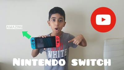 Unboxing the Nintendo Switch(My first video)
