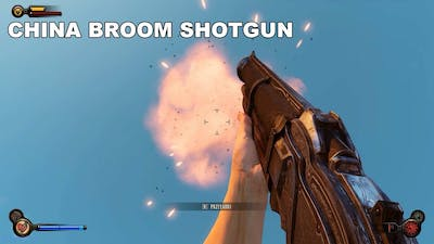 BioShock Infinite All Weapons In Slow Motion [FULL HD, MAX DETAILS, DX 11]