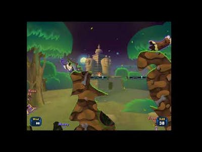 Worms Reloaded  - first game