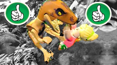 LEGO Jurassic World All Passed Quick Time Events