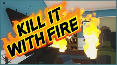 IT IS HERE! Let's Play Kill It With Fire! Full Game
