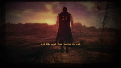Fallout New Vegas Lonesome Road Best Ending