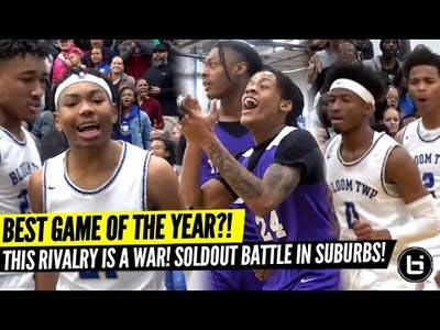 Game of the Year?! Soldout Rivalry Game was HEATED! Bloom vs undefeated Thornton! Full highlights