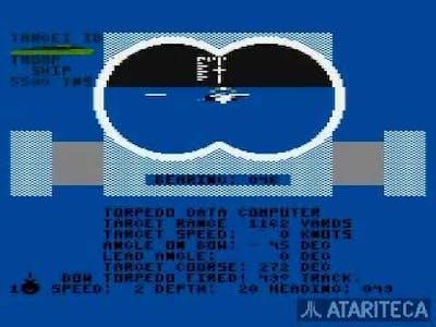 Silent Service - Atari XL XE
